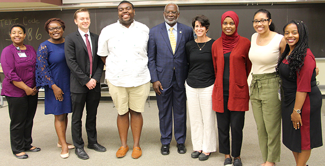 Dr. David Satcher and the MVA