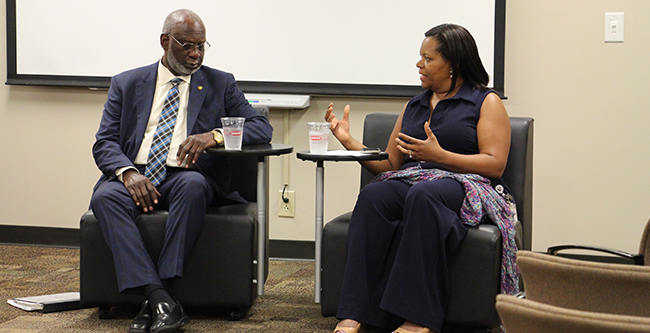 Dr. David Satcher and Dr. Consuelo H. Wilkins
