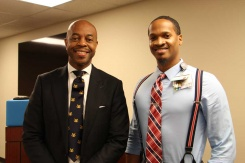 Rev. Representative Harold Love, Jr., PhD and Walter Wilson, Jr. MD, MHA
